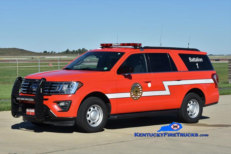 Cincinnati/Northern Kentucky International Airport Battalion 1 <br /> 2018 Ford Expedition <br /> Greg Stapleton photo
