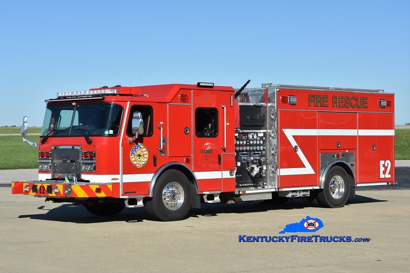 Cincinnati/Northern Kentucky International Airport Engine 2<br /> 2021 E-One Typhoon 2250/530<br /> Greg Stapleton photo
