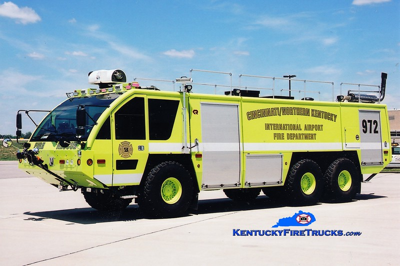 REASSIGNED <br /> Cincinnati/Northern Kentucky International Airport Crash 972<br /> 2005 Rosenbauer Panther 1800/3000/450F/500H<br /> Greg Stapleton photo
