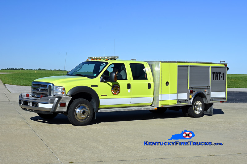 Cincinnati/Northern Kentucky International Airport TRT-1<br /> x-Crash 966<br /> 2005 Ford F-550 4x4/Ferrara/2020 Airport Motor Pool<br /> Kent Parrish photo