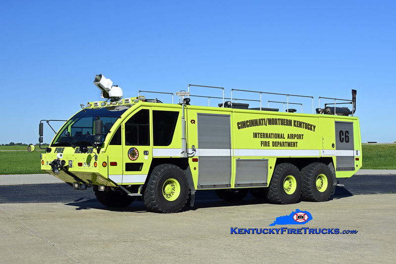 Cincinnati/Northern Kentucky International Airport Crash 6<br /> x-Crash 971<br /> 2005 Rosenbauer Panther 1800/3000/450F/500H<br /> Kent Parrish photo