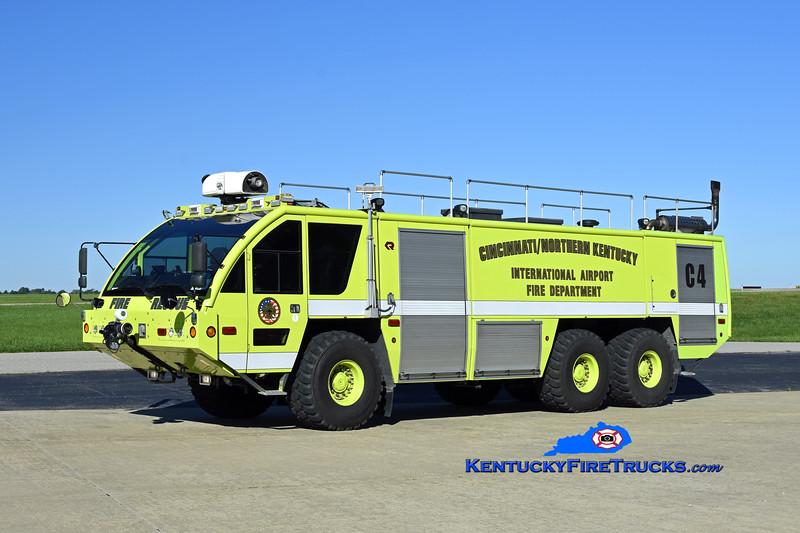 Cincinnati/Northern Kentucky International Airport Crash 4<br /> x-Crash 972<br /> 2005 Rosenbauer Panther 1800/3000/450F/500H<br /> Kent Parrish photo