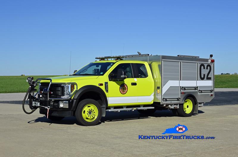 Cincinnati/Northern Kentucky International Airport Crash 2<br /> 2020 Ford F-550 4x4/Rosenbauer 250/300/40F<br /> Kent Parrish photo