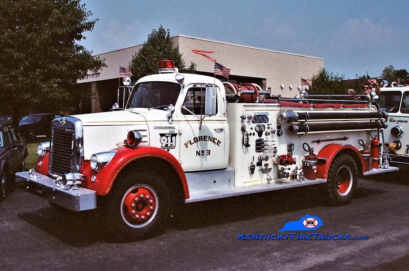 RETIRED <br /> Florence Engine 103 <br /> 1962 International V190/American 750/500 <br /> Greg Stapleton photo