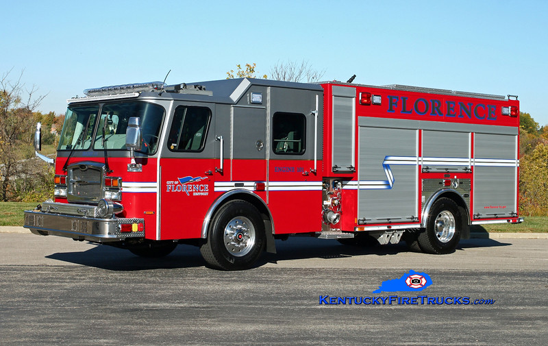 <center> Florence  Engine 101 <br> 2015 E-One Typhoon eMAX 1500/500/30 <br> Kent Parrish photo </center>