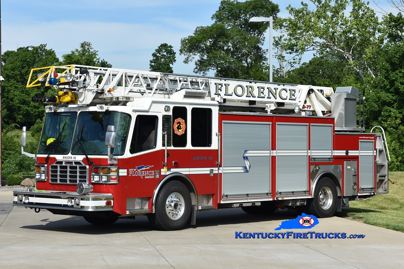 Florence Engine 32<br /> x-Engine 102 <br /> 2010 Ferrara Inferno 1500/500/CAFS-30/77'<br /> Greg Stapleton photo