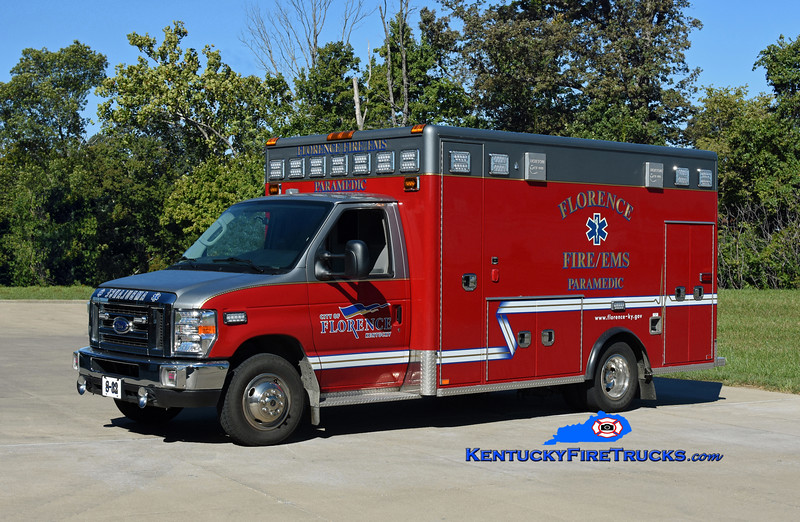 Florence Squad 32 <br /> 2019 Ford E-450/Horton <br /> Kent Parrish photo
