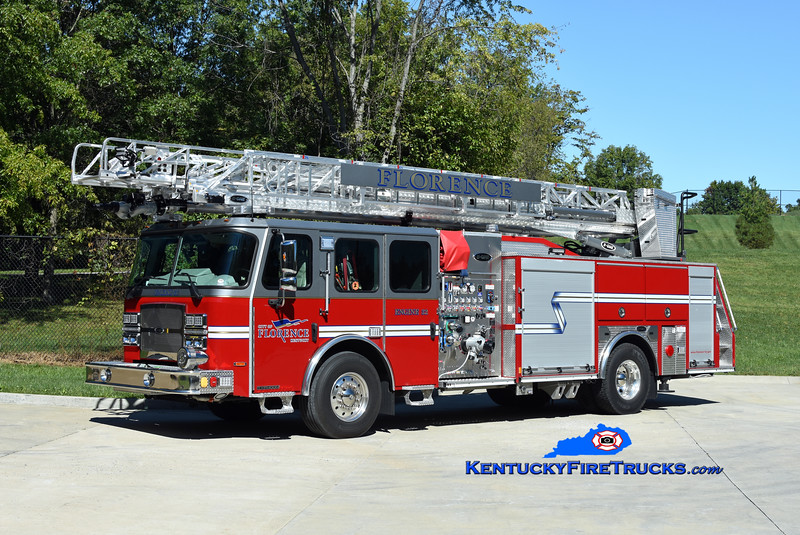 Florence Engine 32<br /> 2021 E-One Typhoon 1500/470/30/75'<br /> Kent Parrish photo