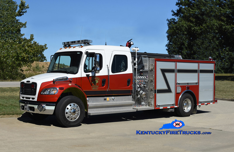 Hebron Engine 43<br /> x-Bromley, KY<br /> 2008 Freightliner M2-106/2011 Summit 1250/750<br /> Kent Parrish photo