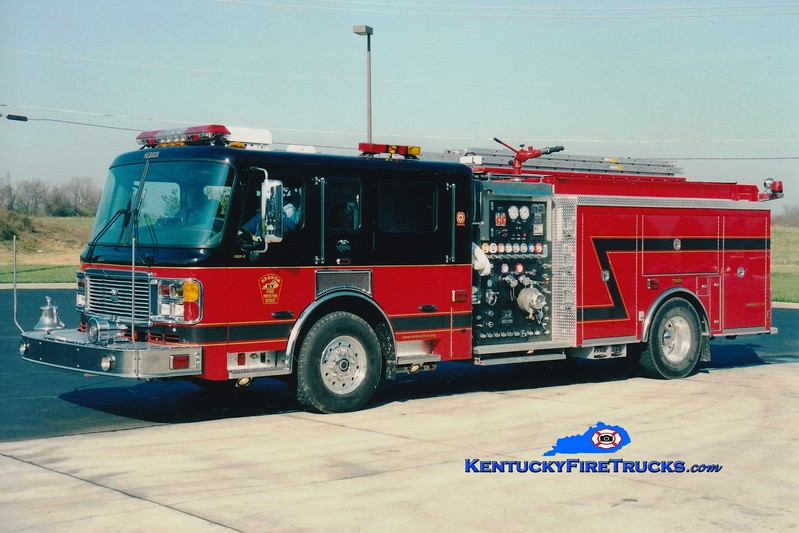 <center> RETIRED <br> Hebron  Engine 352 <br> 2003 American LaFrance Eagle 1500/750 <br> Greg Stapleton photo </center>