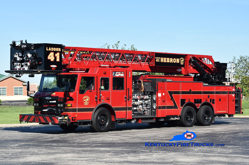Hebron Ladder 41<br /> 2020 Pierce Velocity 2000/430/20/100'<br /> Greg Stapleton photo