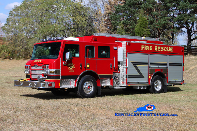 <center> Hebron  Engine 351 <br> 2010 Pierce Impel PUC 1500/750/CAFS-30 <br> Kent Parrish photo </center>