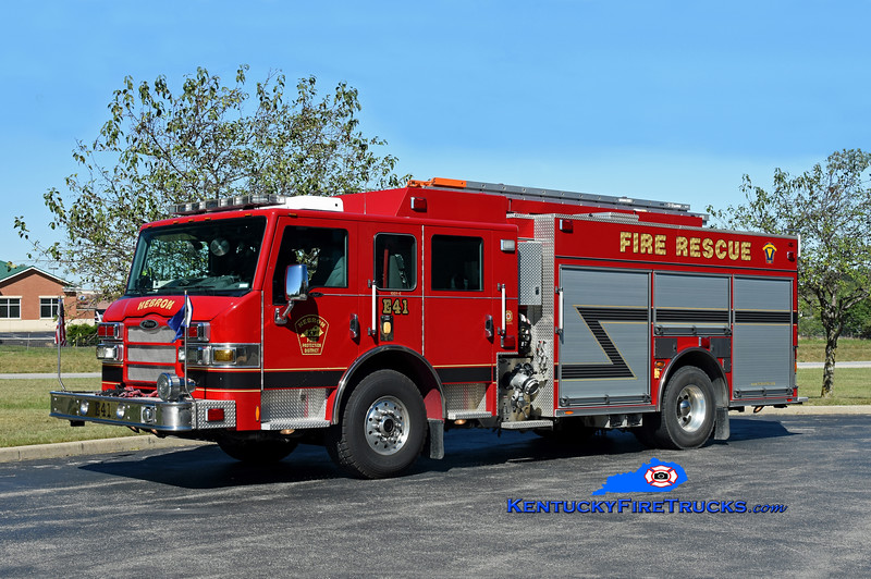 Hebron Engine 41<br /> x-Engine 351  <br /> 2010 Pierce Impel PUC 1500/750/CAFS-30 <br /> Kent Parrish photo
