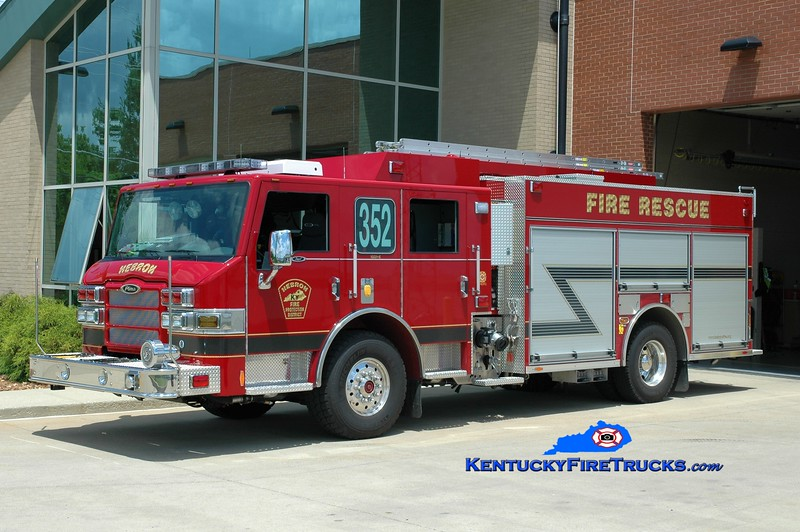 REASSIGNED <br /> Hebron Engine 352 <br /> 2010 Pierce Impel PUC 1500/750/CAFS-30 <br /> Greg Stapleton photo