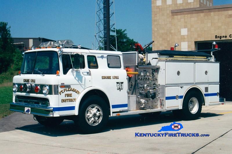 <center> RETIRED <br> Point Pleasant  Engine 1352 <br> 1982 Ford C-8000/Grumman 1000/750  <br> Kent Parrish photo </center>