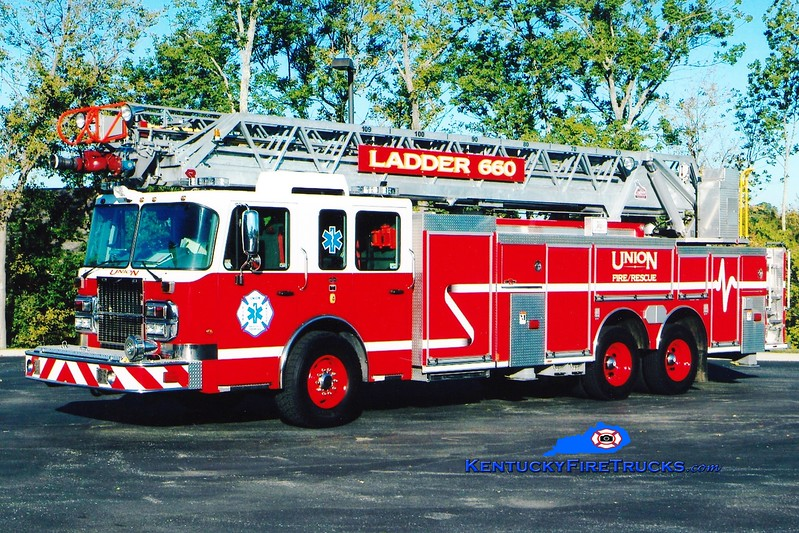 <center> Union  Ladder 660 <br> 2008 Spartan Metro Star/Rosenbauer-Central 1500/500/109'  <br> Greg Stapleton photo </center>