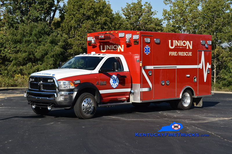 Union  Squad 661<br /> 2016 Dodge Ram 3500 4x4/2012 Braun<br /> Greg Stapleton photo