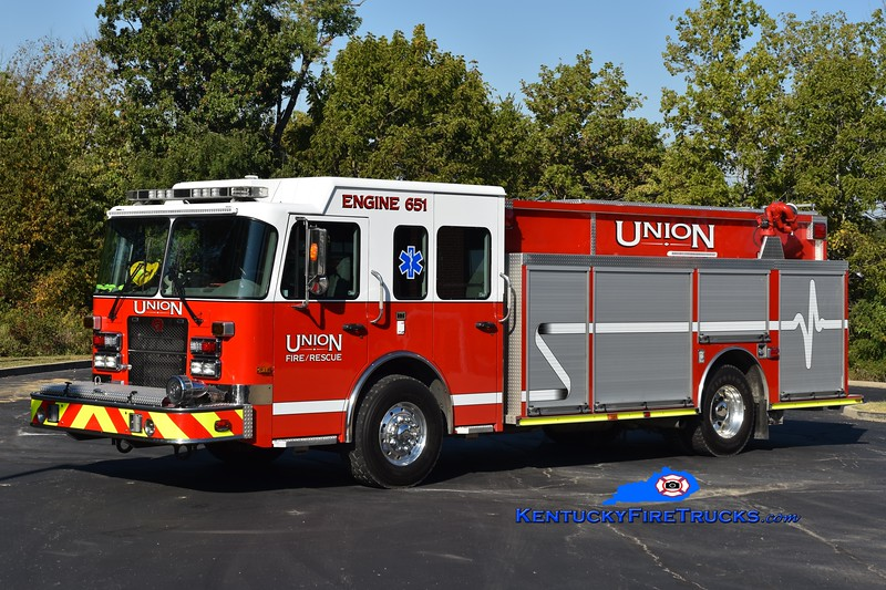 Union Engine 651<br /> 2007 Spartan Metro Star/Rosenbauer-Central 1500/750<br /> Greg Stapleton photo