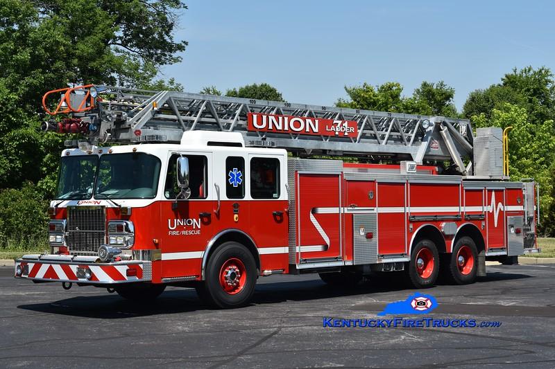 Union Ladder 71  <br /> x-Ladder 660<br /> 2008 Spartan Metro Star/Rosenbauer-Central 1500/500/109'<br /> Greg Stapleton photo