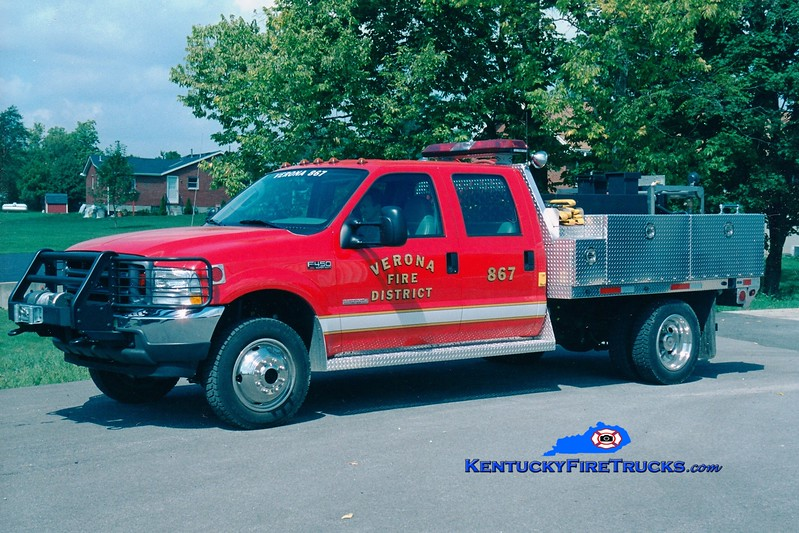 <center> Verona  Brush 867 <br> 2003 Ford F-450 4x4/Summit 250/200 <br> Greg Stapleton photo </center>