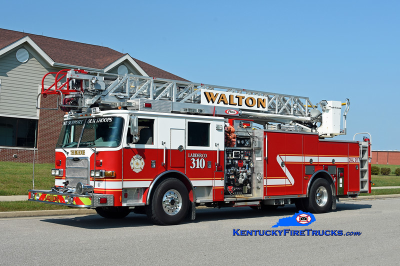 Walton  Ladder 310<br /> 2008 Pierce Arrow XT 2000/400/20/75'<br /> Kent Parrish photo