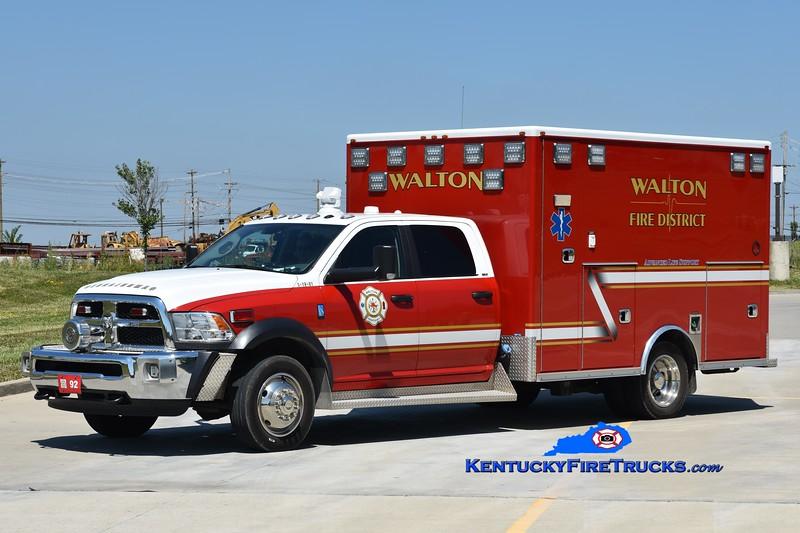 Walton Squad 92   <br /> x-Squad 314<br /> 2018 Dodge 4500 4x4/McCoy Miller<br /> Greg Stapleton photo