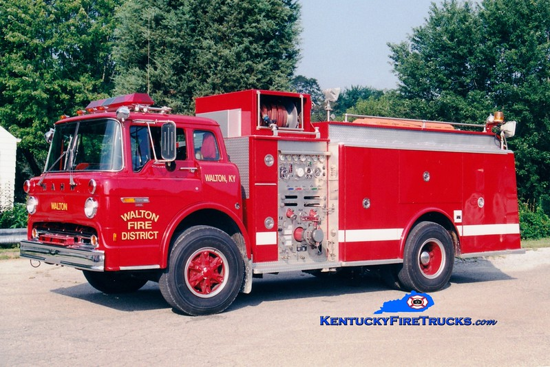 <center> RETIRED <br> Walton  Engine 303 <br> x-Limerick, PA <br> 1981 Ford C/Hahn 1000/1000 <br> Greg Stapleton photo </center>