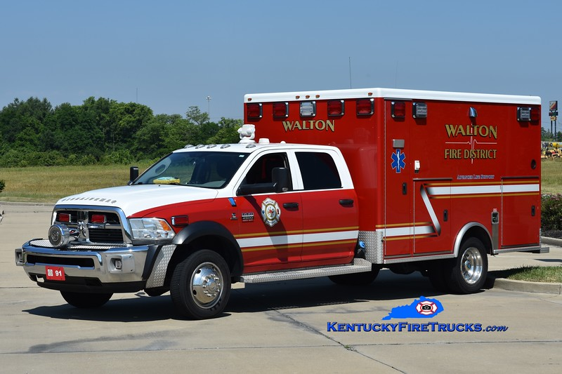 Walton  Squad 91<br /> x-Squad 313<br /> 2013 Dodge 4500 4x4/McCoy Miller<br /> Greg Stapleton photo