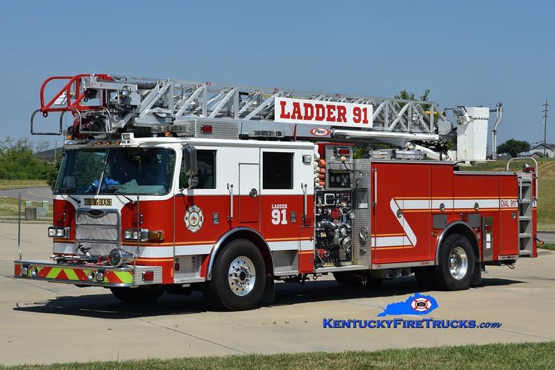 Walton Ladder 91   <br /> x-Ladder 310<br /> 2008 Pierce Arrow XT 2000/400/20/75'<br /> Greg Stapleton photo