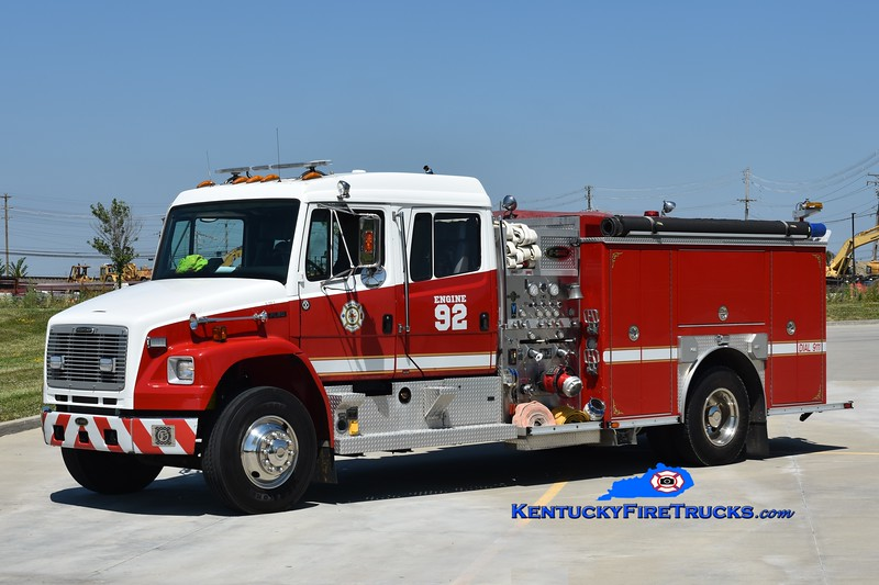 Walton Engine 92 <br /> x-Engine 302<br /> 2002 Freightliner FL80/E-One 1250/1000<br /> Greg Stapleton photo