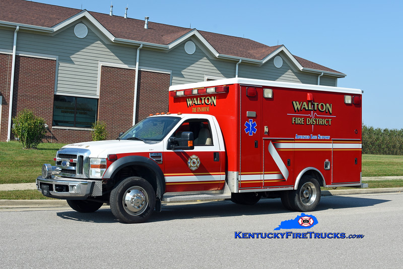 Walton  Squad 315<br /> 2008 Ford F-450 4x4/McCoy Miller<br /> Kent Parrish photo