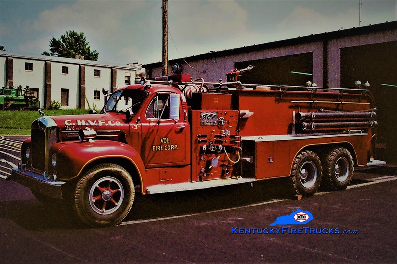RETIRED <br /> Walton Engine 303 <br /> x-Coeyman's Hollow, NY <br /> 1959 Mack B95 1000/1800 <br /> Greg Stapleton photo