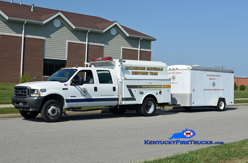 Walton  Hazmat 71<br /> Northern KY Regional Hazmat/WMD Response Team<br /> 2006 Ford F-550 4x4/Monroe Custom Bodies<br /> Kent Parrish photo