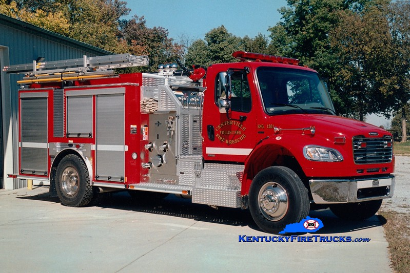 <center> Centerville  Engine 1201 <br> 2006 Freightliner M2-106/E-One 1250/1000 <br> Greg Stapleton photo </center>