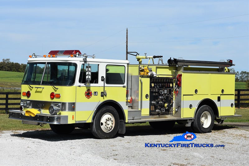 Hutchison Station  Engine 91<br /> x-Holton Army Ordnance Works, TN<br /> 1988 Pierce ARrow 1000/750<br /> Greg Stapleton photo