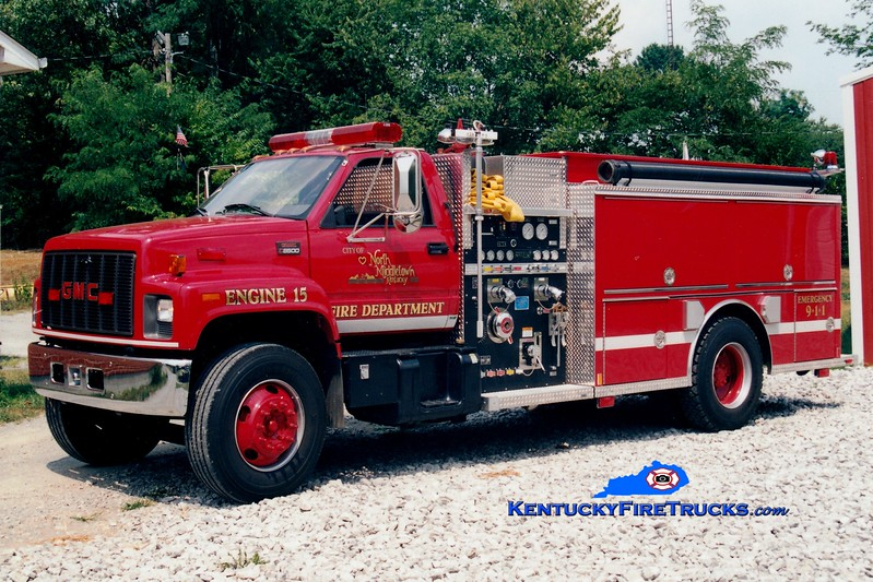<center> North Middletown  Engine 60 <br> 2001 GMC/Central States 1250/1000 <br> Greg Stapleton photo </center>