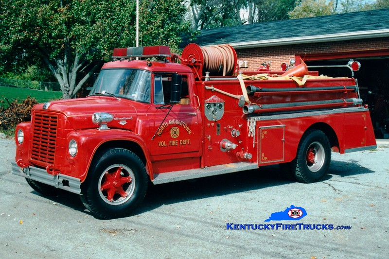 <center> RETIRED <br> North Middletown  Engine 16 <br> 1963 International Loadstar/Central 500/500 <br> Greg Stapleton photo </center>