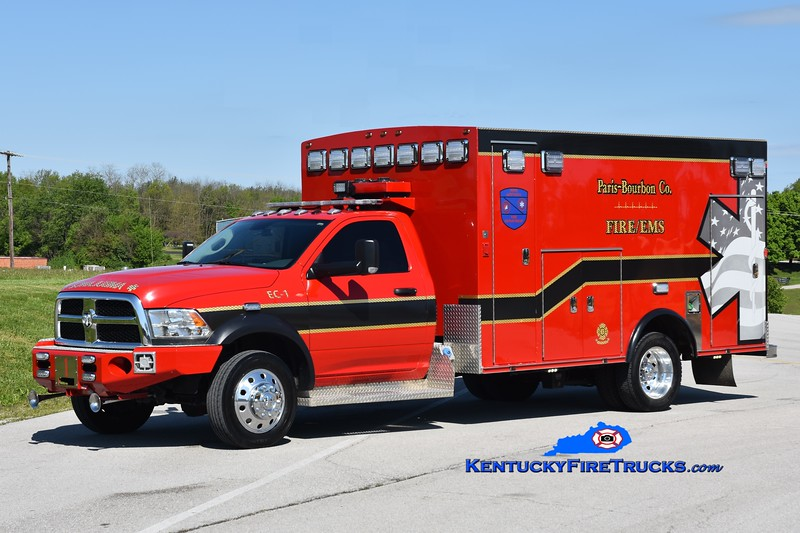 Paris-Bourbon County Emergency Care 1 <br /> 2018 Dodge Ram 4500 4x4/Braun<br /> Greg Stapleton photo