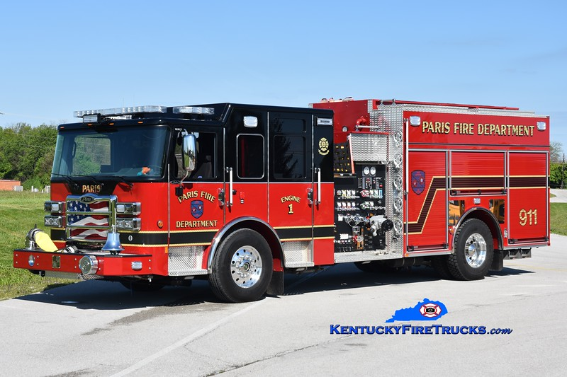 Paris Engine 1<br /> 2019 Pierce Saber 2000/1000<br /> Greg Stapleton photo