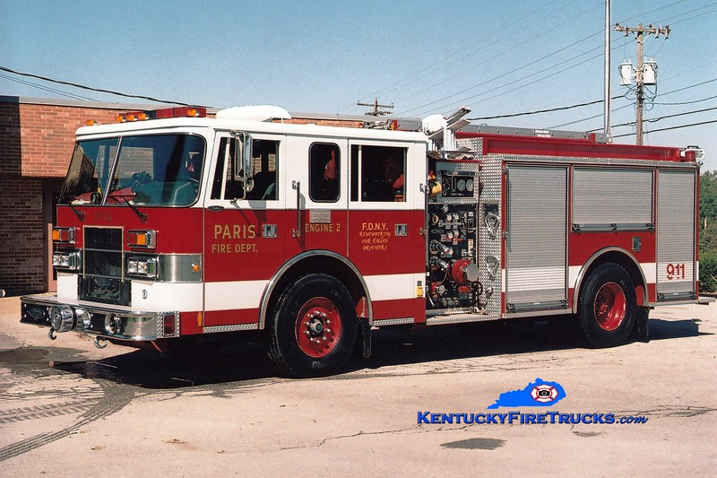 <center> Paris  Engine 2 <br> 1996 Pierce Saber 1250/500 <br> Greg Stapleton photo </center>