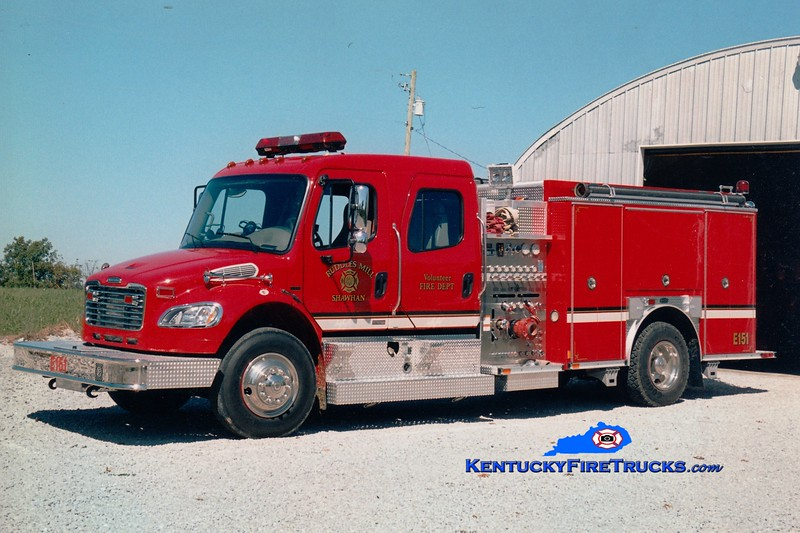 <center> Ruddles Mill Shawhan  Engine 51 <br> 2004 Freightliner M2-106/E-One 1250/1000 <br> Greg Stapleton photo </center>