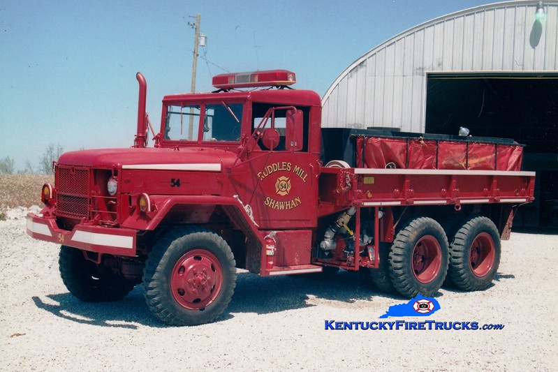 <center> Ruddles Mill Shawhan  Tanker 54 <br> x-US Army <br> 1983 AM General M35/FD 250/1000 <br> Greg Stapleton photo </center>