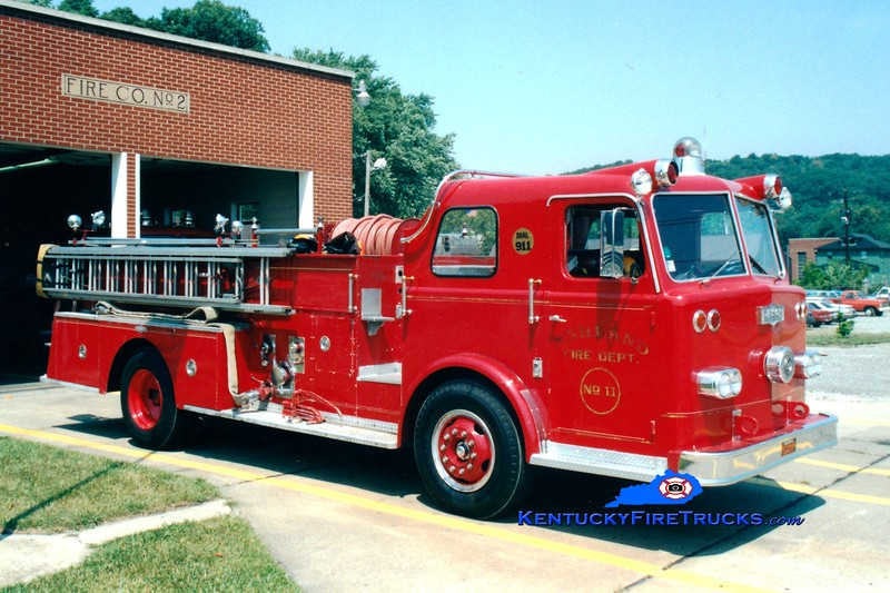 <center> RETIRED <br> Ashland  Engine 2 <br> 1964 Pirsch 1000/350 <br> Greg Stapleton photo <br> </center>