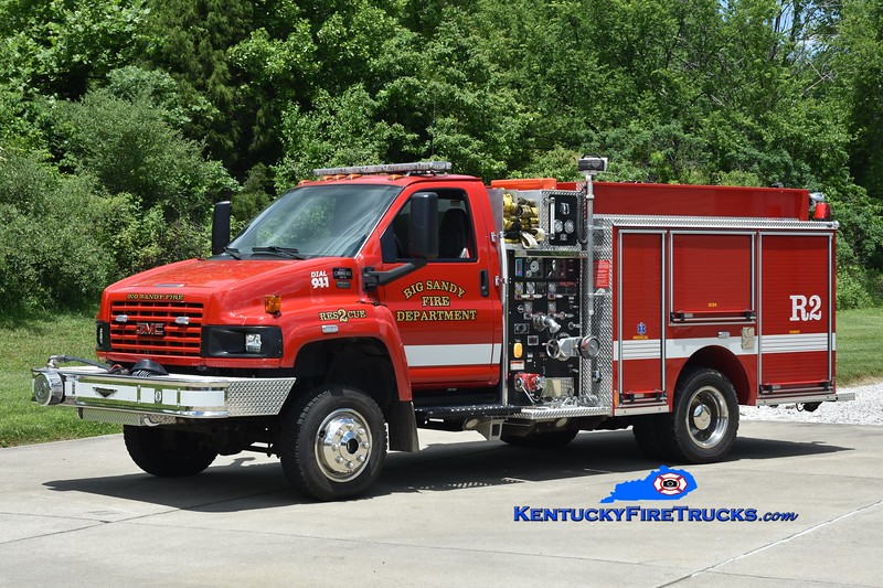Big Sandy Rescue 2<br /> x-Woodburn, KY<br /> 2006 GMC 5500 4x4/Pierce 500/500<br /> Kent Parrish photo