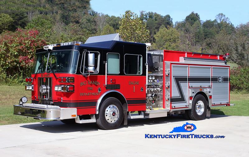 Big Sandy Engine 1<br /> 2009 Sutphen Shield 1500/1000<br /> Kent Parrish photo