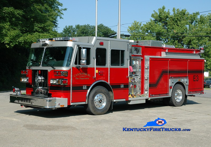 <center> Cannonsburg  Engine 3  <br> 2009 Sutphen Monarch 2000/1000 <br> Greg Stapleton photo </center>