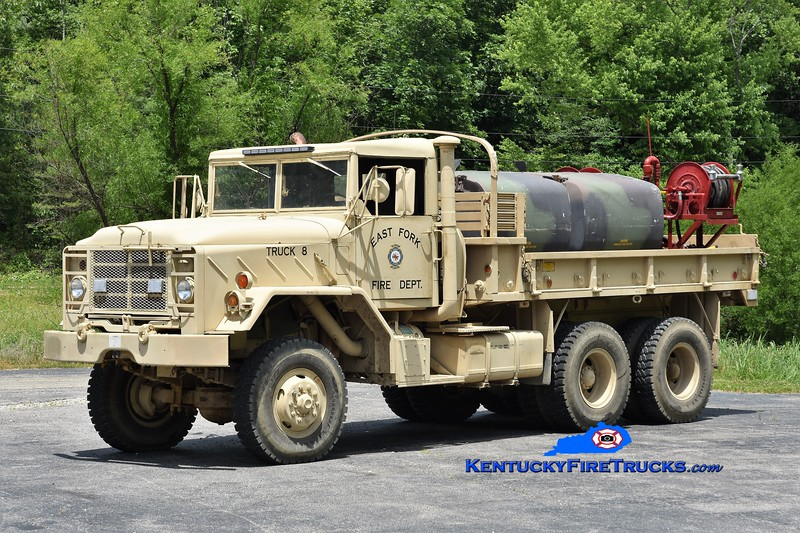 East Fork Truck 8<br /> x-US Army <br /> 1981 AM General 6x6/FD 250/1000<br /> Greg Stapleton photo