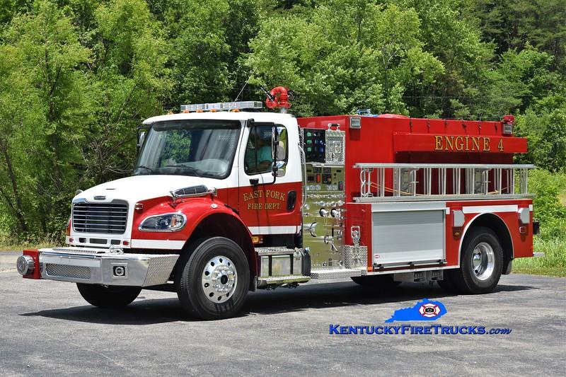 East Fork Engine 4<br /> 2019 Freightliner M2-106/Danko 1250/2000<br /> Greg Stapleton photo