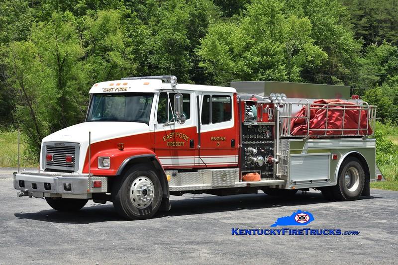 East Fork Engine 3 <br /> x-Engine 2 <br /> 1994 Freightliner/Smeal/2012 Bluegrass 1500/2000<br /> Greg Stapleton photo