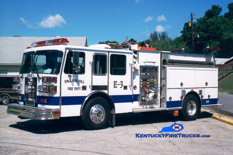 <center> RETIRED <br> England Hill  Engine 3 <br> 1995 Sutphen 1500/1000 <br> Greg Stapleton photo <br> </center>